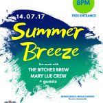 Summer Breeze: «The Bitches Brew» και «The Mary Lue Crew + guests» στο Μεγάλο Νεώριο